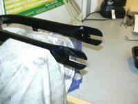 Front fork slots