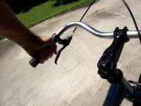 Swept-back handlebar