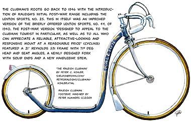 'Raleigh Clubman' footbike