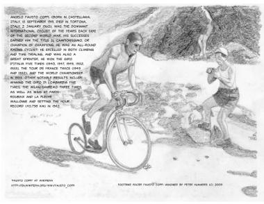 Fantasy Footbike: Fausto Coppi