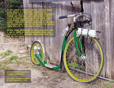 John Deere Fantasy Footbike