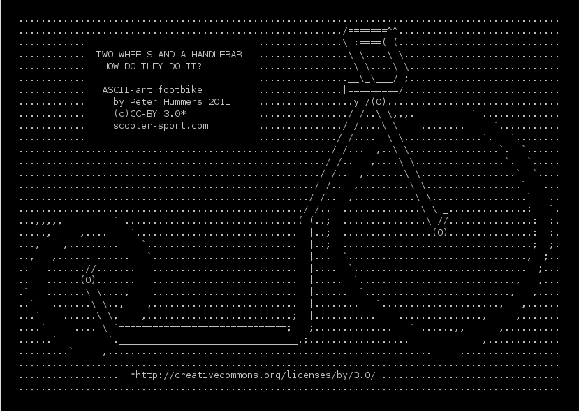 One Line Ascii Art Dog : It s official i ve too much time on my hands