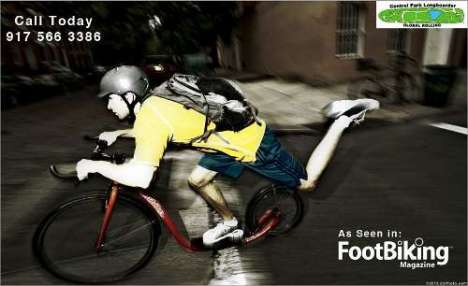 NYC Footbiker pic