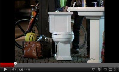 Kohler ad screenshot