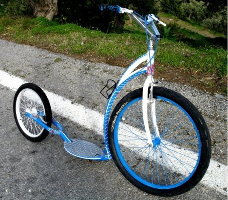 Re Cycle custom footbikehttp://www.re-cycle.gr/?p=451