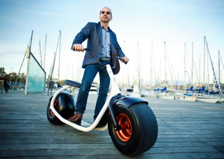 Huge electric scooter pic